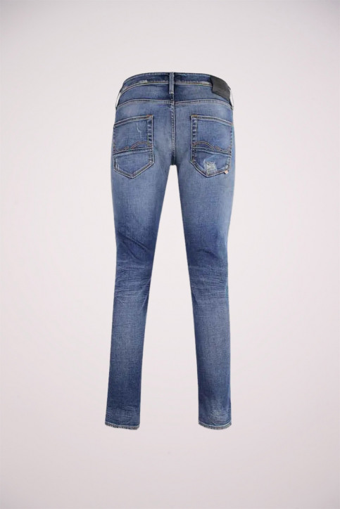 JACK & JONES JEANS INTELLIGENC Jeans slim denim JJGLENN FOX_BL683VINTDESTR img2