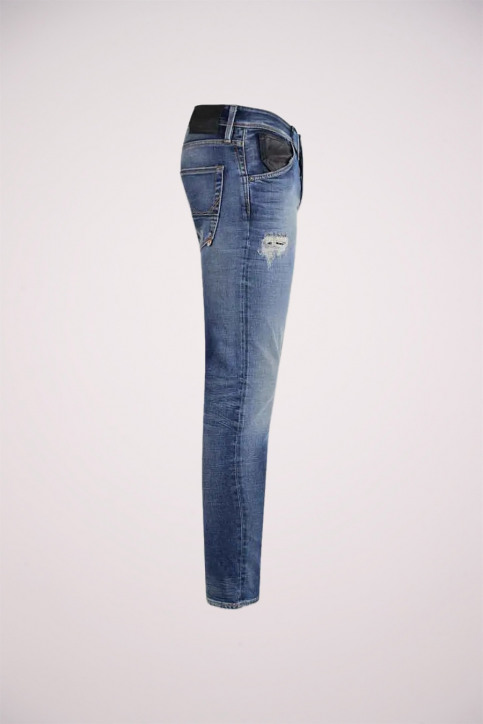 JACK & JONES JEANS INTELLIGENC Jeans slim denim JJGLENN FOX_BL683VINTDESTR img3