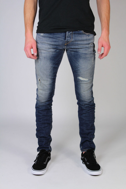 JACK & JONES JEANS INTELLIGENC Jeans slim denim JJGLENN ICON_BL670 img1