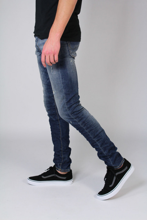 JACK & JONES JEANS INTELLIGENC Jeans slim denim JJGLENN ICON_BL670 img2