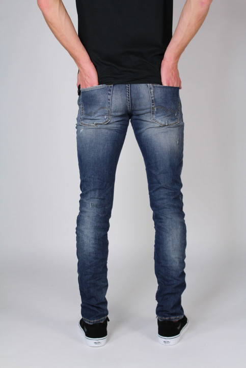 JACK & JONES JEANS INTELLIGENC Jeans slim denim JJGLENN ICON_BL670 img3