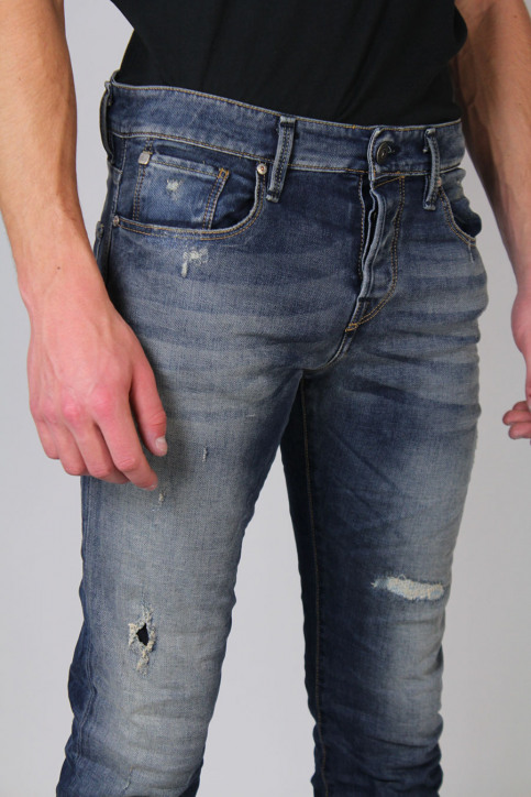 JACK & JONES JEANS INTELLIGENC Jeans slim denim JJGLENN ICON_BL670 img5