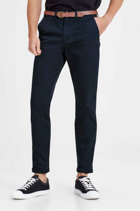 JACK & JONES JEANS INTELLIGENC Chinos bleu JJICODY JJSPENCER WW_NAVY BLAZER img1