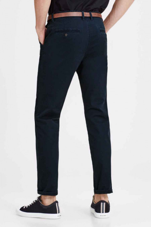 JACK & JONES JEANS INTELLIGENC Chinos bleu JJICODY JJSPENCER WW_NAVY BLAZER img2