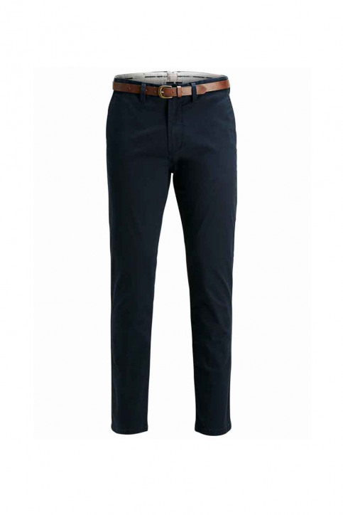 JACK & JONES JEANS INTELLIGENC Chinos bleu JJICODY JJSPENCER WW_NAVY BLAZER img3