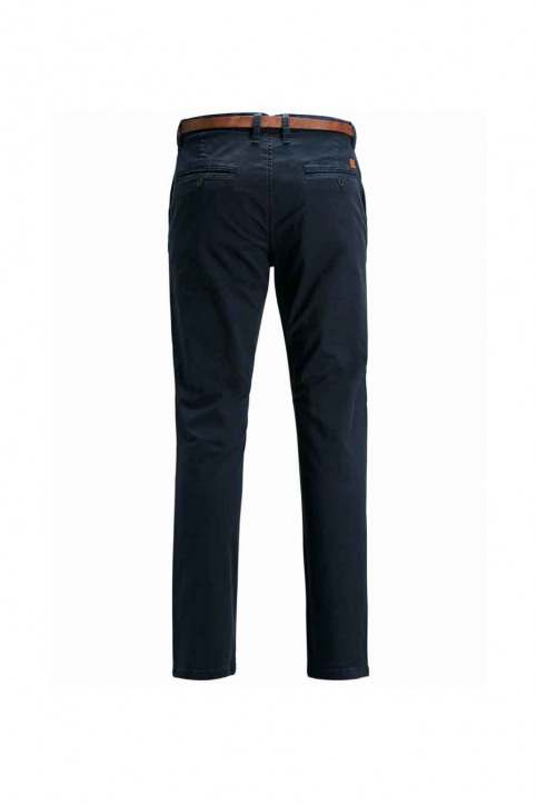 JACK & JONES JEANS INTELLIGENC Chinos bleu JJICODY JJSPENCER WW_NAVY BLAZER img4