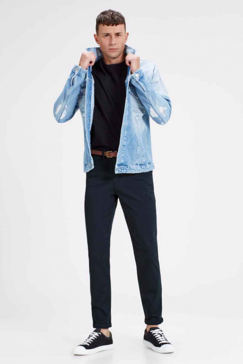 JACK & JONES JEANS INTELLIGENC Chinos bleu JJICODY JJSPENCER WW_NAVY BLAZER img5