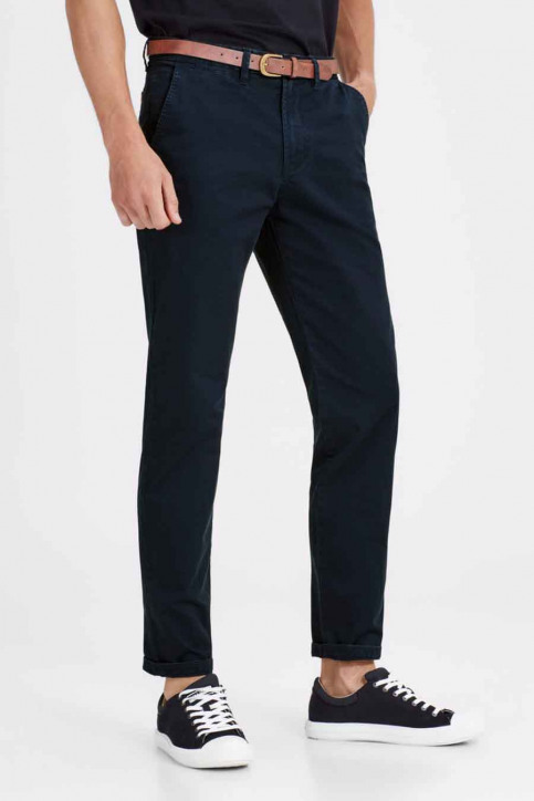 JACK & JONES JEANS INTELLIGENC Chinos bleu JJICODY JJSPENCER WW_NAVY BLAZER img6