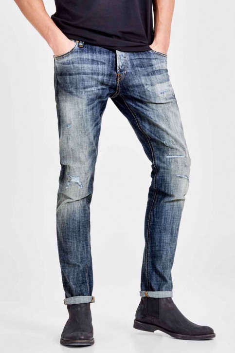 JACK & JONES JEANS INTELLIGENC Jeans slim JJIGLENN JJORIGINAL_GE 988 img1