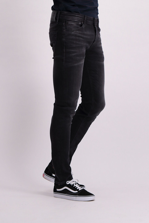JACK & JONES JEANS INTELLIGENC Jeans slim gris JJIGLENN JJORIGINAL_JOS106DARKGREY img4