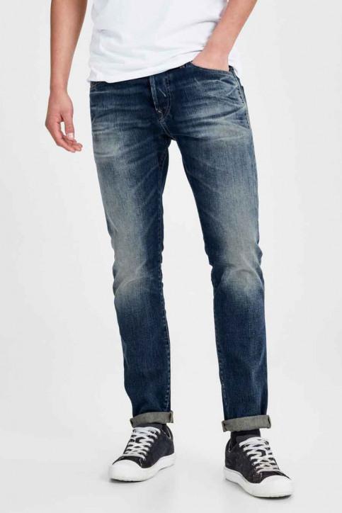 JACK & JONES JEANS INTELLIGENC Jeans slim denim JJIGLENN JJPAGE_BL708BLUE img1