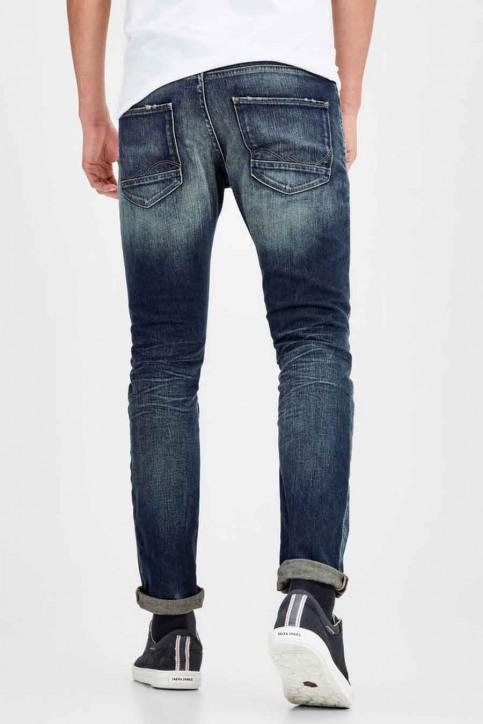 JACK & JONES JEANS INTELLIGENC Jeans slim denim JJIGLENN JJPAGE_BL708BLUE img2