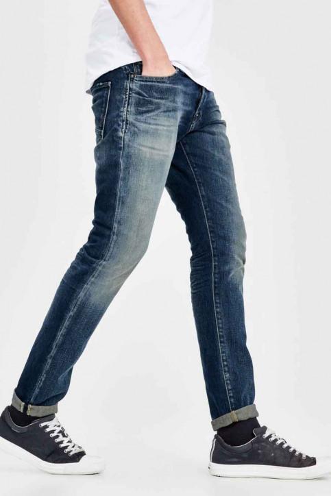 JACK & JONES JEANS INTELLIGENC Jeans slim denim JJIGLENN JJPAGE_BL708BLUE img5
