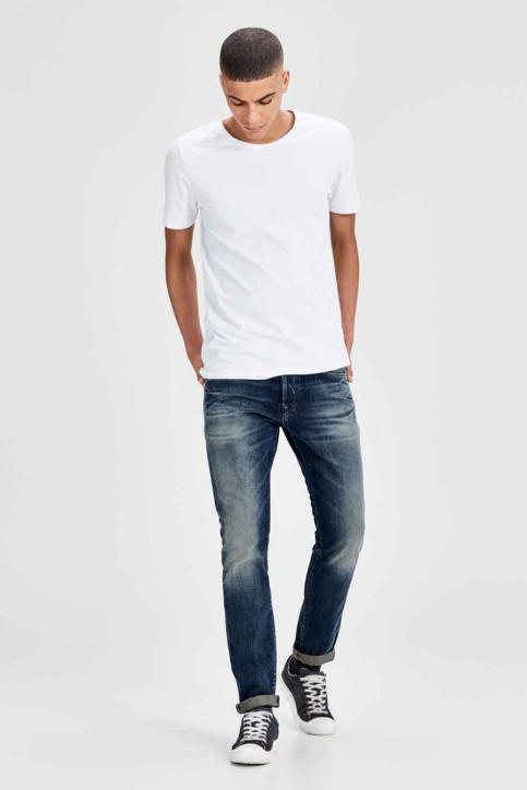 JACK & JONES JEANS INTELLIGENC Jeans slim denim JJIGLENN JJPAGE_BL708BLUE img8