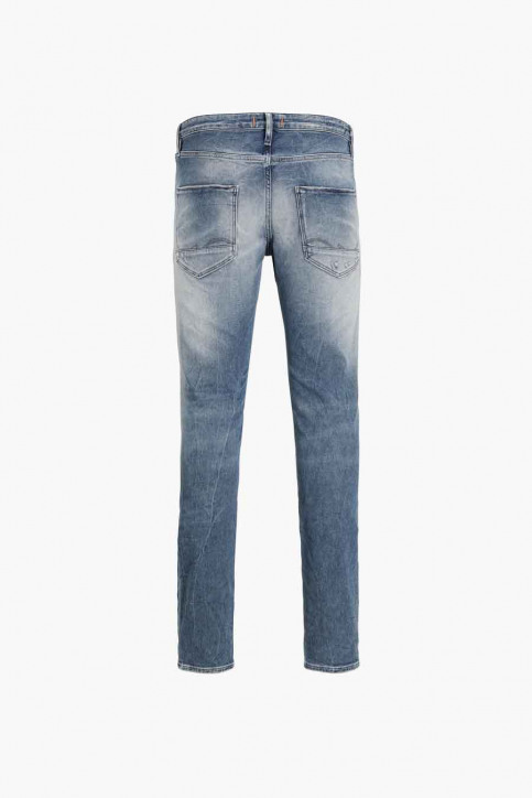 JACK & JONES JEANS INTELLIGENC Jeans slim denim JJIGLENN JJPAGE_BL795BLUEDESTR img6