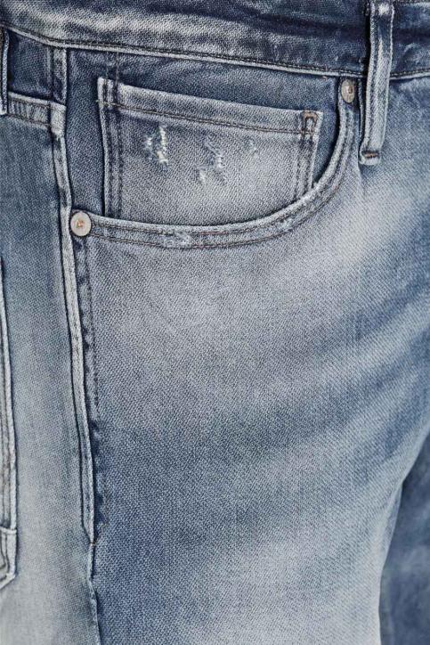 JACK & JONES JEANS INTELLIGENC Jeans slim denim JJIGLENN JJPAGE_BL795BLUEDESTR img7