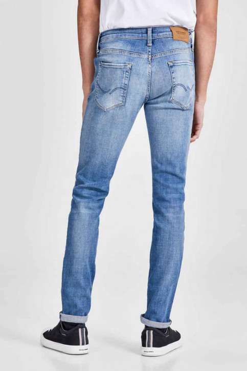 JACK & JONES JEANS INTELLIGENC Jeans skinny denim JJILIAM JJICON_JJ070BLUEDESTR img3