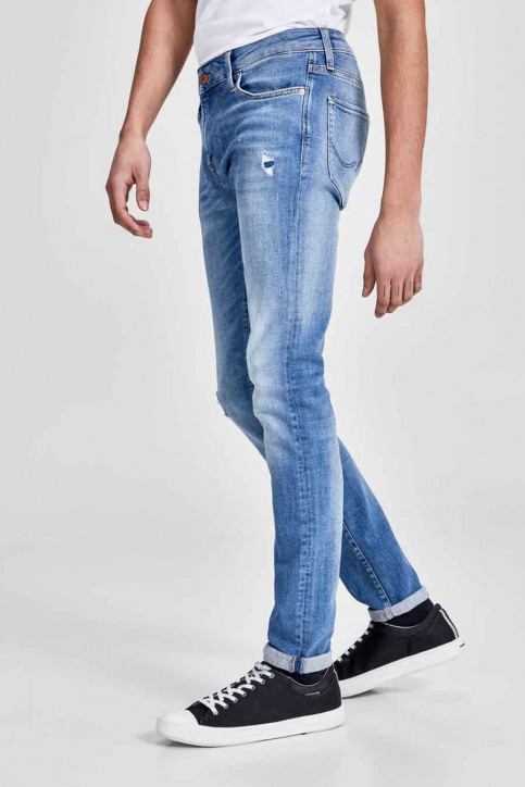 JACK & JONES JEANS INTELLIGENC Jeans skinny denim JJILIAM JJICON_JJ070BLUEDESTR img6