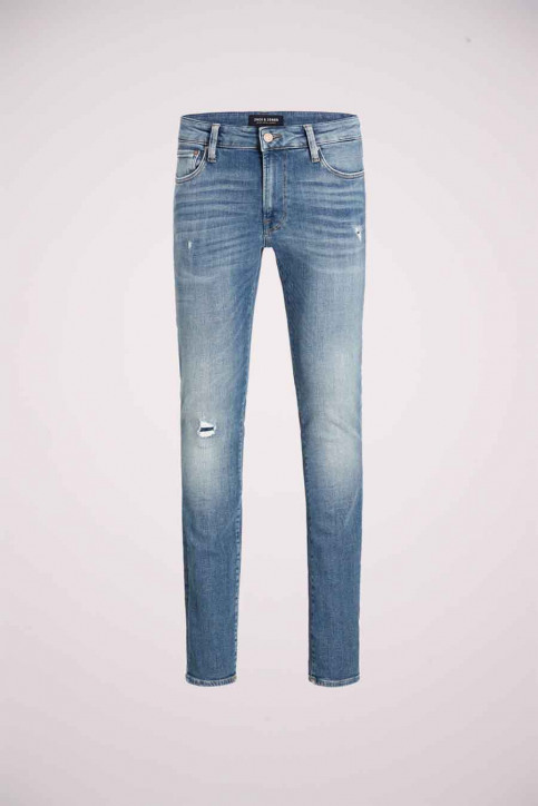 JACK & JONES JEANS INTELLIGENC Jeans skinny denim JJILIAM JJICON_JJ070BLUEDESTR img7