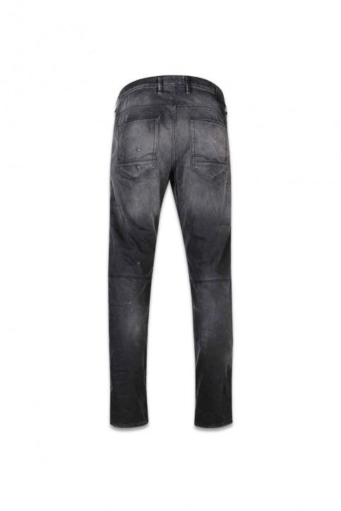 JACK & JONES JEANS INTELLIGENCE Jeans tapered zwart JJIMIKE JJJAX_BL 793 BLACK D img2