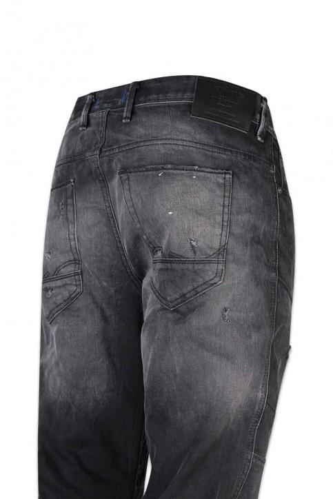 JACK & JONES JEANS INTELLIGENCE Jeans tapered zwart JJIMIKE JJJAX_BL 793 BLACK D img4