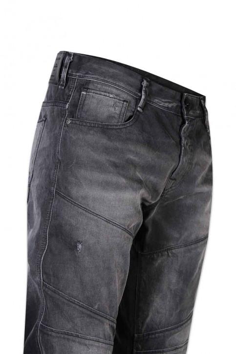 JACK & JONES JEANS INTELLIGENCE Jeans tapered zwart JJIMIKE JJJAX_BL 793 BLACK D img5