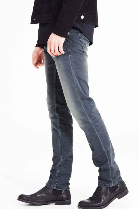 JACK & JONES JEANS INTELLIGENC Jeans slim JJITIM JJLEON_SC 079 INDIGO img7