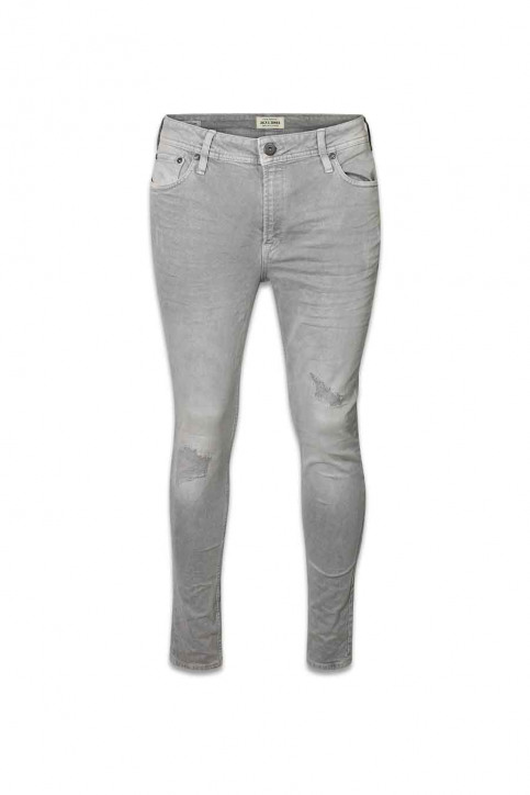JACK & JONES JEANS INTELLIGENC Jeans skinny JJLIAM ORIGINAL_881LIGHT GREY img1