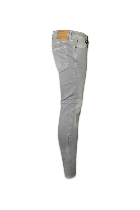 JACK & JONES JEANS INTELLIGENC Jeans skinny JJLIAM ORIGINAL_881LIGHT GREY img3
