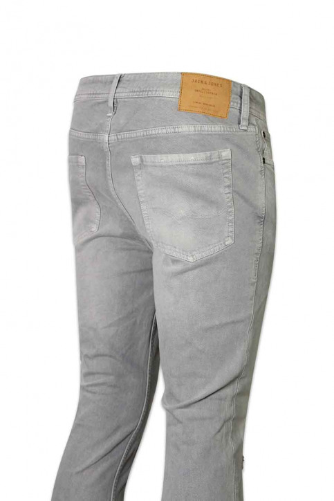 JACK & JONES JEANS INTELLIGENC Jeans skinny JJLIAM ORIGINAL_881LIGHT GREY img4