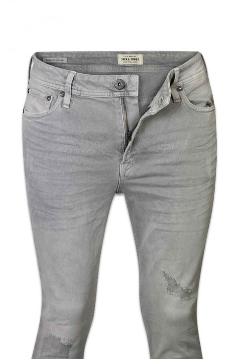JACK & JONES JEANS INTELLIGENC Jeans skinny JJLIAM ORIGINAL_881LIGHT GREY img6
