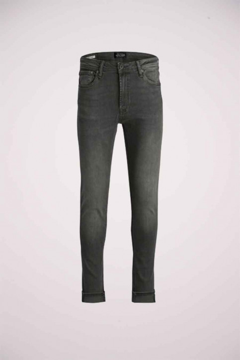JACK & JONES JEANS INTELLIGENC Jeans skinny grijs JJLIAM ORIGINAL_M010GREY img6