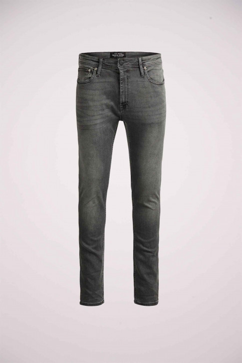 JACK & JONES JEANS INTELLIGENC Jeans skinny grijs JJLIAM ORIGINAL_M010GREY img8