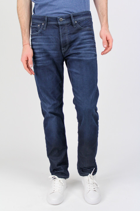 JACK & JONES JEANS INTELLIGENC Jeans tapered denim JJMIKE ORIGINAL_JOS097BLUE KNI img1