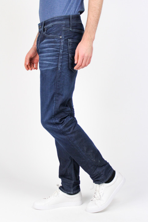 JACK & JONES JEANS INTELLIGENC Jeans tapered denim JJMIKE ORIGINAL_JOS097BLUE KNI img4