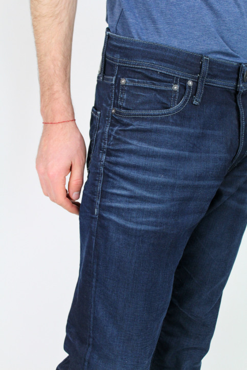 JACK & JONES JEANS INTELLIGENC Jeans tapered denim JJMIKE ORIGINAL_JOS097BLUE KNI img5