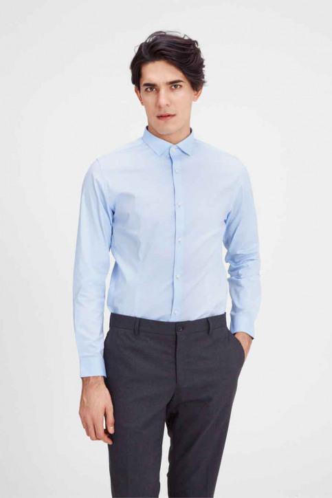 PREMIUM BY JACK & JONES Hemden (lange mouwen) blauw JJPRPARMA SHIRT LS_CASHMERE BLUE img1