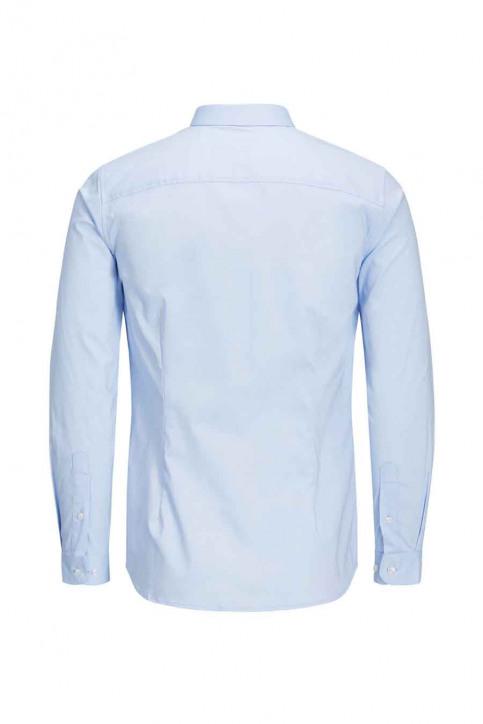 PREMIUM BY JACK & JONES Chemises (manches longues) bleu JJPRPARMA SHIRT LS_CASHMERE BLUE img6