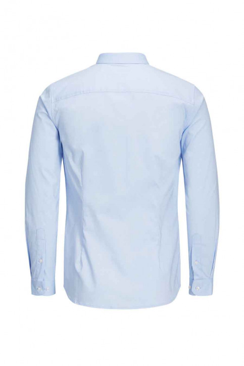 PREMIUM BY JACK & JONES Hemden (lange mouwen) blauw JJPRPARMA SHIRT LS_CASHMERE BLUE img6