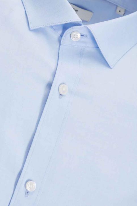 PREMIUM BY JACK & JONES Chemises (manches longues) bleu JJPRPARMA SHIRT LS_CASHMERE BLUE img7