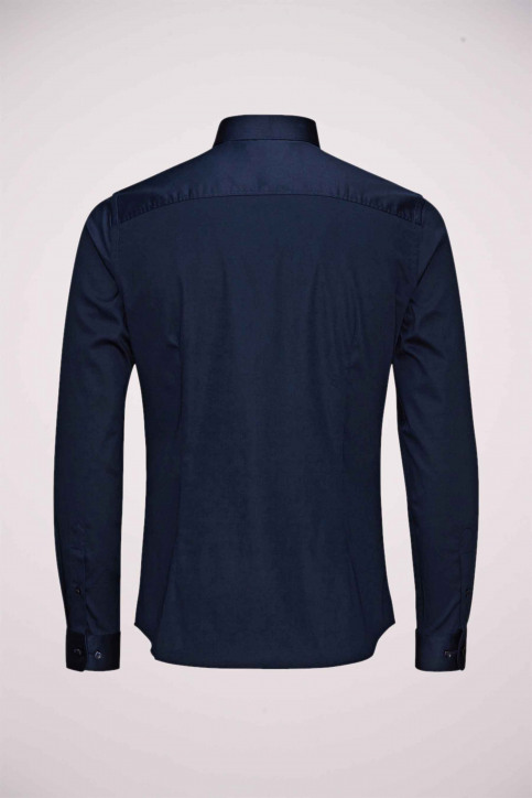 PREMIUM BY JACK & JONES Chemises (manches longues) bleu JJPRPARMA SHIRT LS_NAVY BLAZER img3