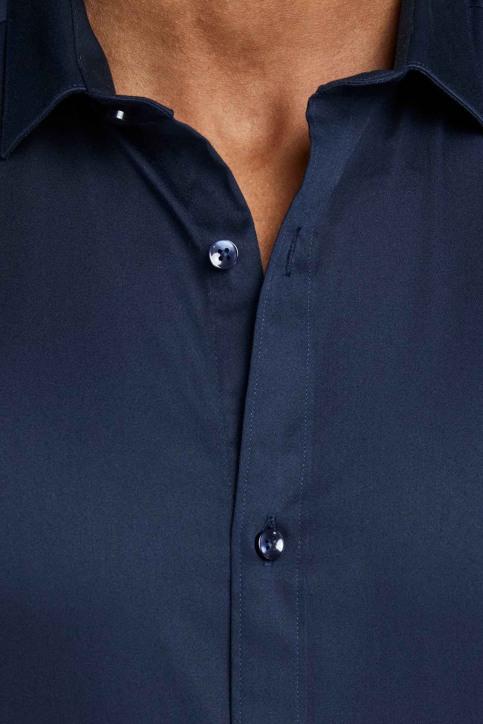 PREMIUM BY JACK & JONES Chemises (manches longues) bleu JJPRPARMA SHIRT LS_NAVY BLAZER img7