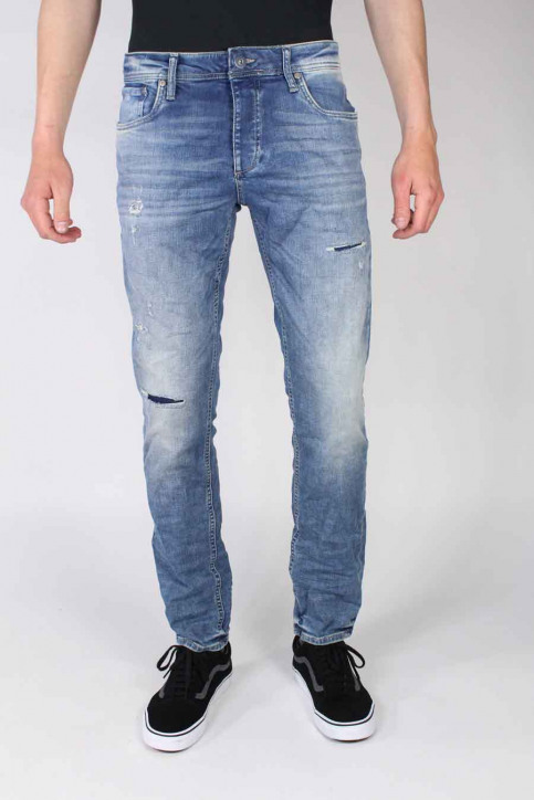 JACK & JONES JEANS INTELLIGENC Jeans slim denim JJTIM ORIGINAL_JJ925BLUE img1