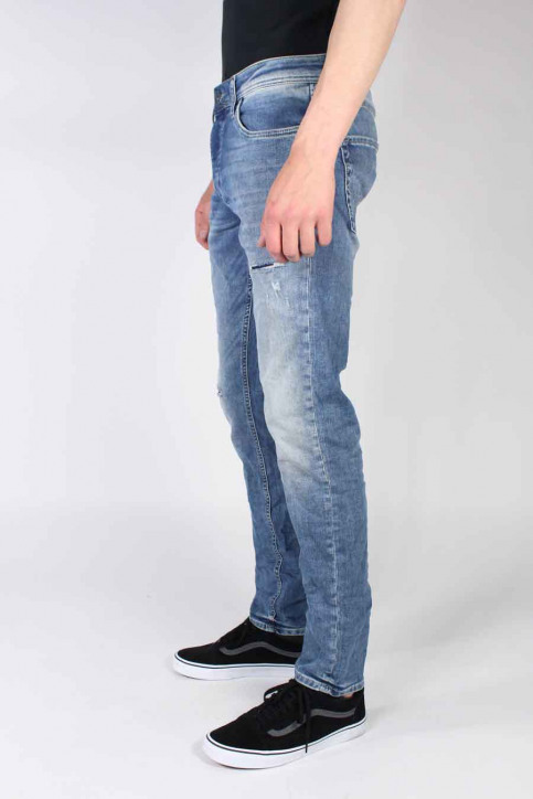 JACK & JONES JEANS INTELLIGENC Jeans slim denim JJTIM ORIGINAL_JJ925BLUE img2