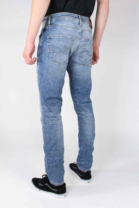 JACK & JONES JEANS INTELLIGENC Jeans slim denim JJTIM ORIGINAL_JJ925BLUE img3
