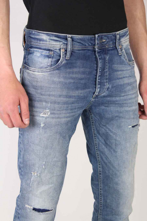 JACK & JONES JEANS INTELLIGENC Jeans slim denim JJTIM ORIGINAL_JJ925BLUE img5