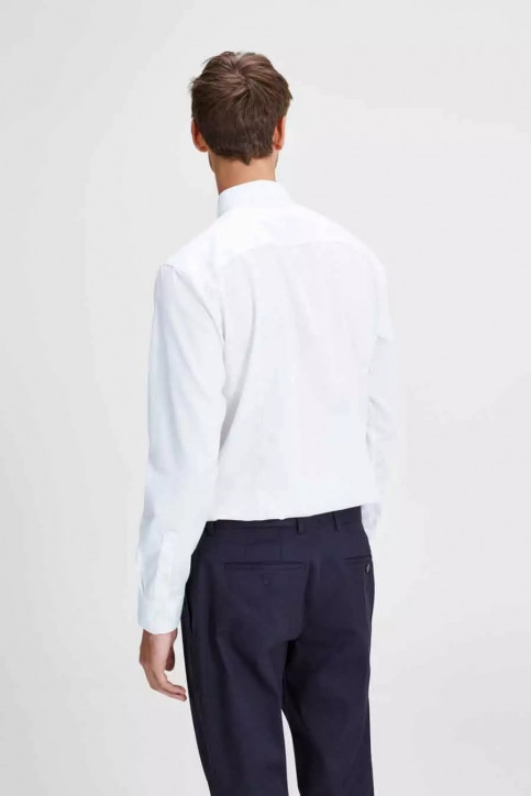 PREMIUM by JACK & JONES Chemises (manches longues) blanc JPRNON IRON SHIRT LS_WHITE img3