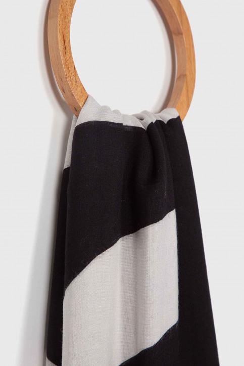 Calvin Klein Foulards noir K60K605700016_016 BLACK BEAUT img2