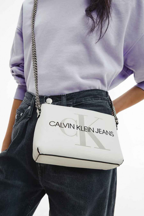 Calvin Klein Handtassen wit K60K607858YAF_YAF WHITE img1