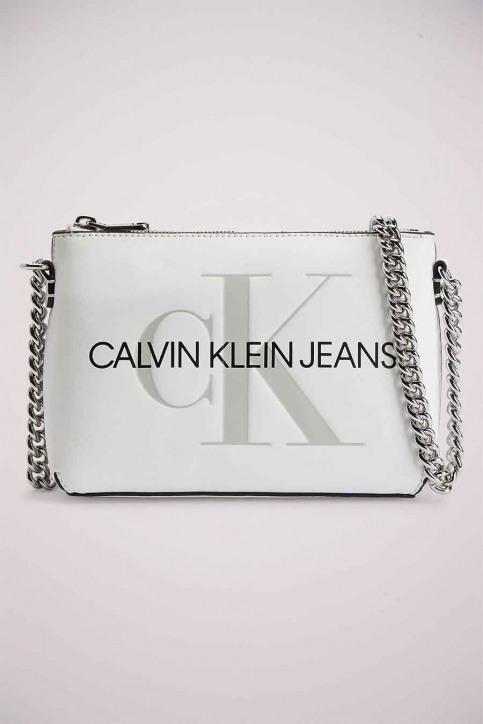 Calvin Klein Handtassen wit K60K607858YAF_YAF WHITE img2